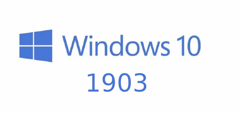 Windows 10 1903 : Installer la mise à jour