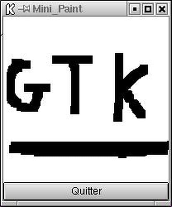 C / C++ / C++ NET : Mini paint en gtk [code en c] [gcc