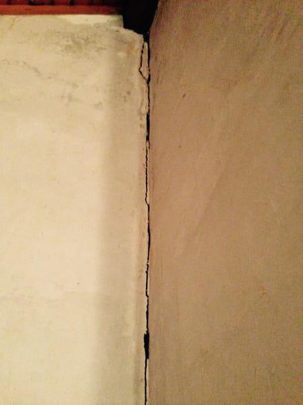 R parer une fissure dans le mur ma onnerie for Reparer une fissure dans un mur exterieur