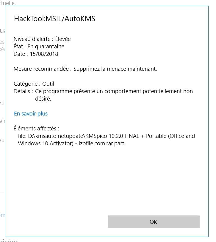 windows defender hacktool win32 keygen