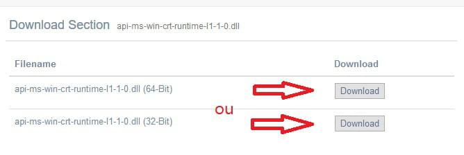 api-ms-win-crt-stdio-11-1-0.dll missing