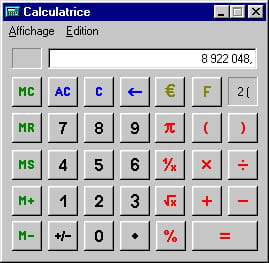 GRATUITE SCIENTIFIQUE TÉLÉCHARGER CALCULETTE