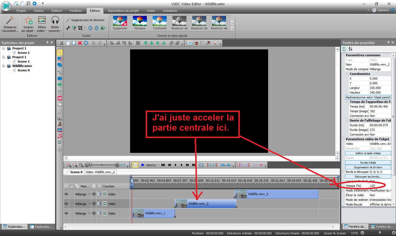 Acc l rer une vid o avec vsdc video ditor r solu - Comment lire la table de la loi normale ...
