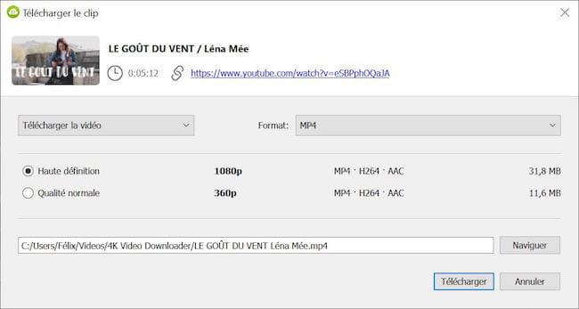 telecharger 4k video downloader gratuit pour mac