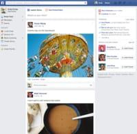 Facebook : nouvel affichage du fil d'actualités