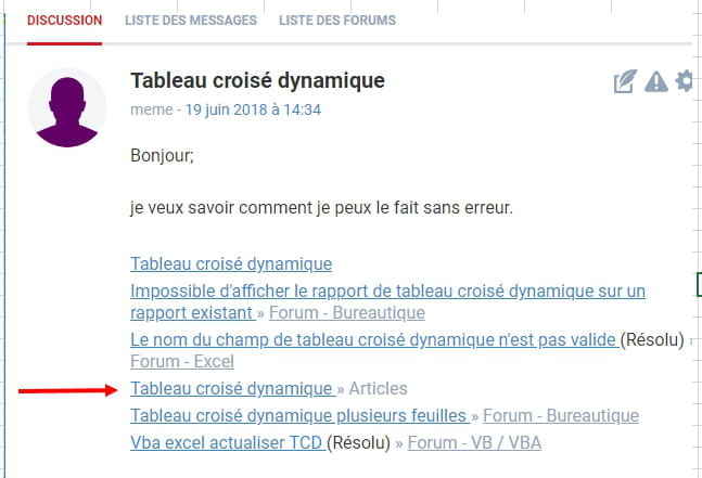 Tableau Croise Dynamique Excel Comment Ca Marche