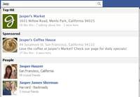 Facebook va intégrer les liens sponsorisés dans son moteur de recherche