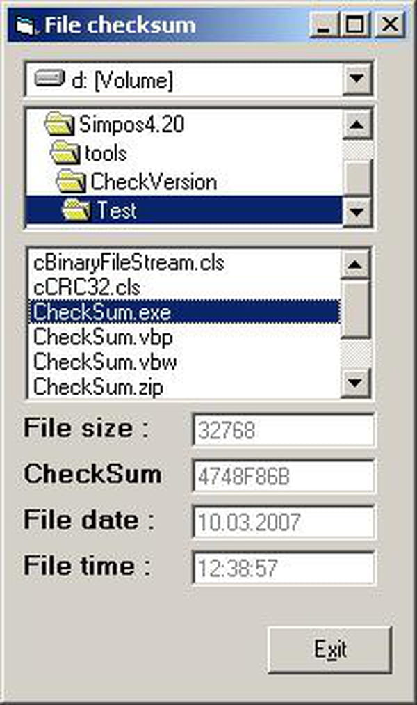 crc 32 source code c
