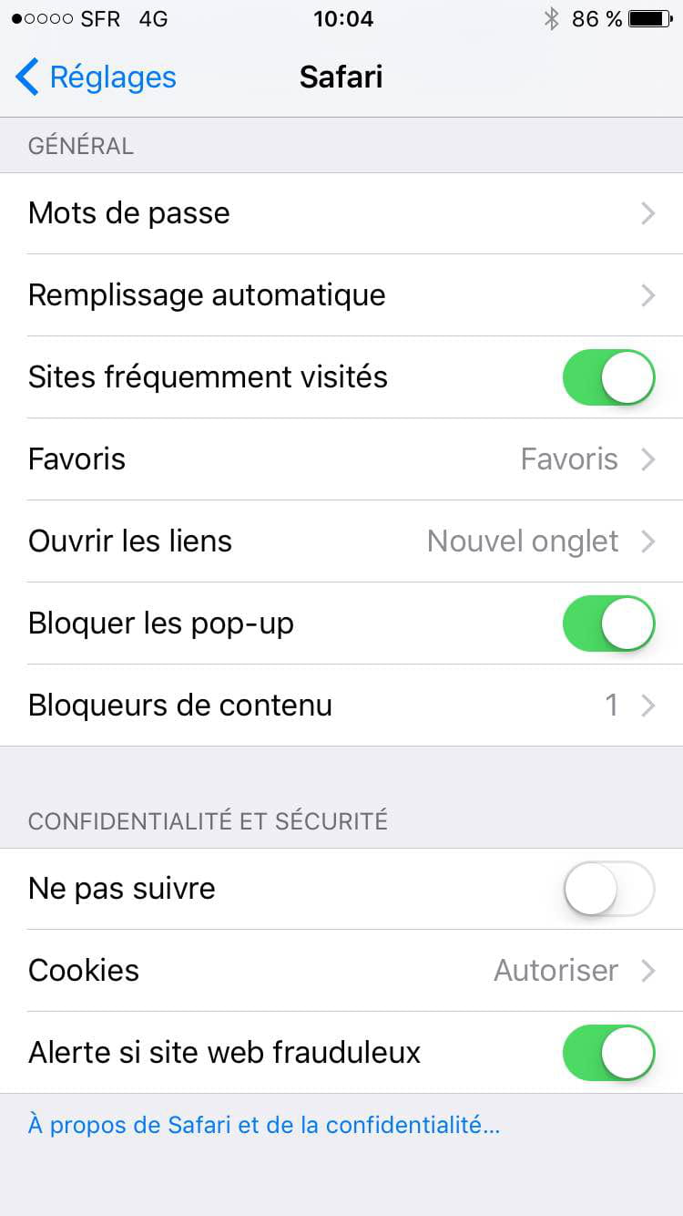 adblock safari iphone ios 9 activer adblock sur safari iphone 7969