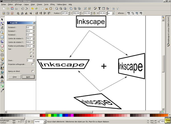 Python : Extension inkscape - CodeS SourceS