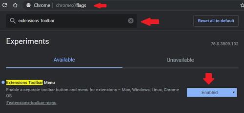 Activer et utiliser le nouveau menu d'extensions de Chrome PRATIQUE