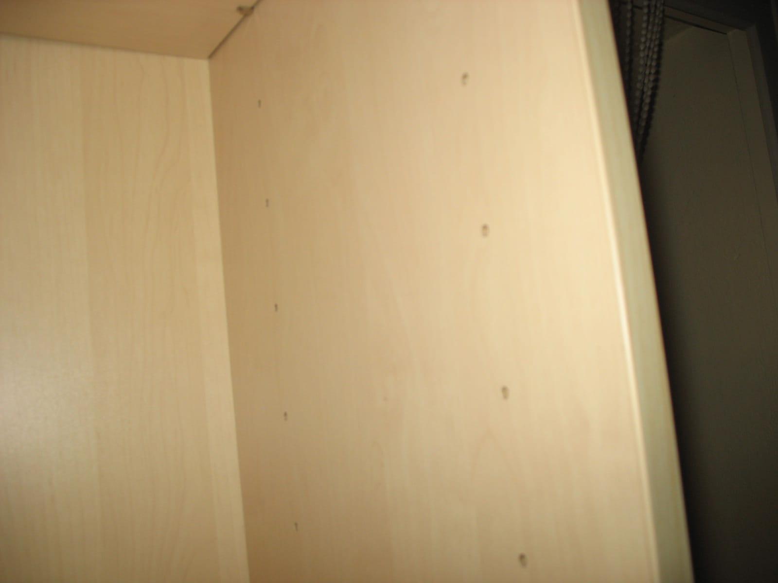 Planche Mélaminé Blanc Castorama panneaux de bois pour amenager un placard - linternaute