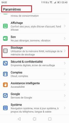 deplacer application sur carte sd huawei p9 lite Pb mémoire : Carte SD dans Huawei P9 Lite   Comment Ça Marche