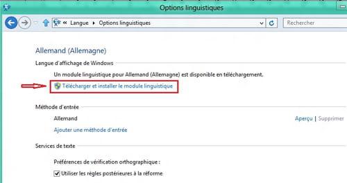 WINDOWS LINGUISTIQUE FRANCAIS POUR TÉLÉCHARGER 8.1 MODULE