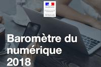 Baromètre du numérique en 2018 : l'évolution des usages en France