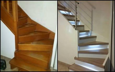 R nover un escalier peindre sans poncer - Renover parquet sans poncer ...