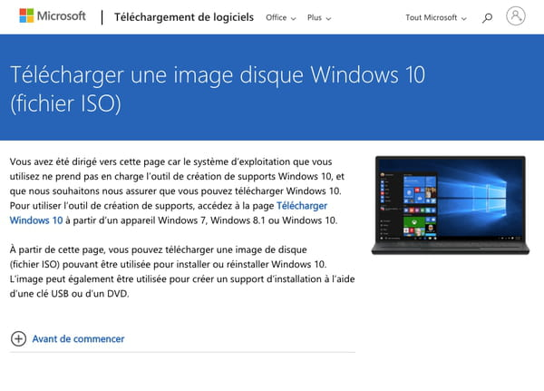 Telecharger Une Iso De Windows 10