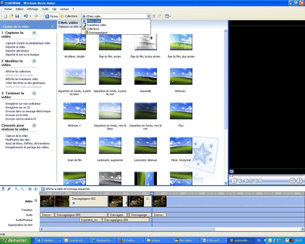 L'application peut découper des fichiers vidéo directement dans la fenêtre de votre navigateur. Les fichiers ayant une taille jusqu'à 500 Mb sont supportés, et nous allons prochainement augmenter cette limite.
