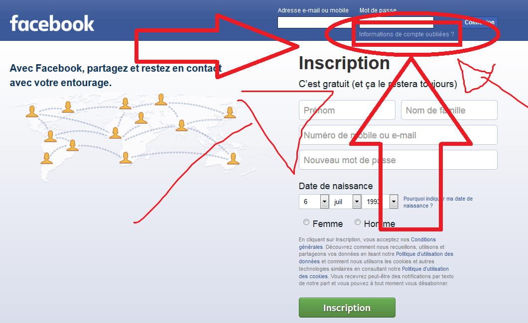 Retrouver Mon Ancien Compte Facebook Facebook