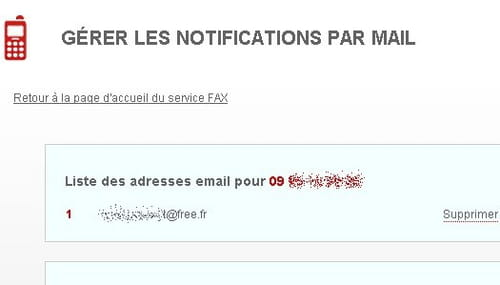 envoyer un fax par free fr