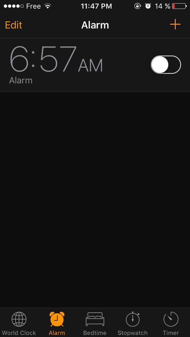 probl me d 39 alarme sur iphone 5s r solu. Black Bedroom Furniture Sets. Home Design Ideas
