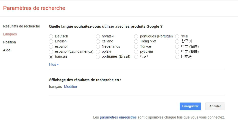 Comment changer la langue de Google ? - Comment Ça Marche