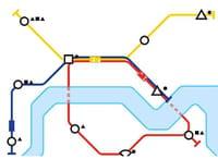 Mini Metro : construire son propre réseau de lignes de métro