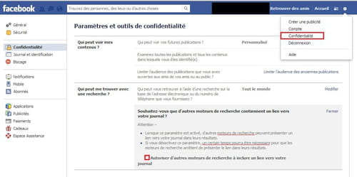 Desindexer Son Profil Facebook Pour Etre Invisible Des Curieux