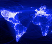 Facebook réalise sa propre carte du monde