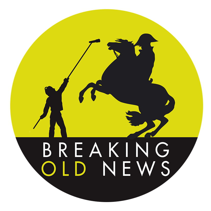 Breaking Old News, l'histoire racontée façon reporter radio !