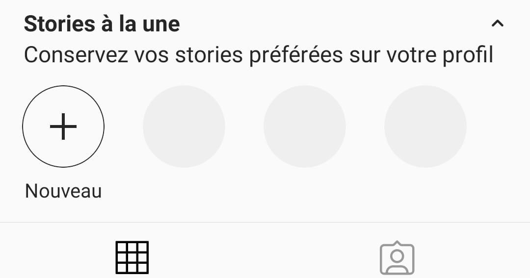 Mettre ses stories à la une sur son compte Instagram
