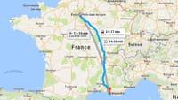 Google Maps intègre aussi les trajets en train, en avion et en covoiturage
