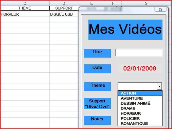 Visual Basic / VB NET : Vba excel, remplissage d'un combobox