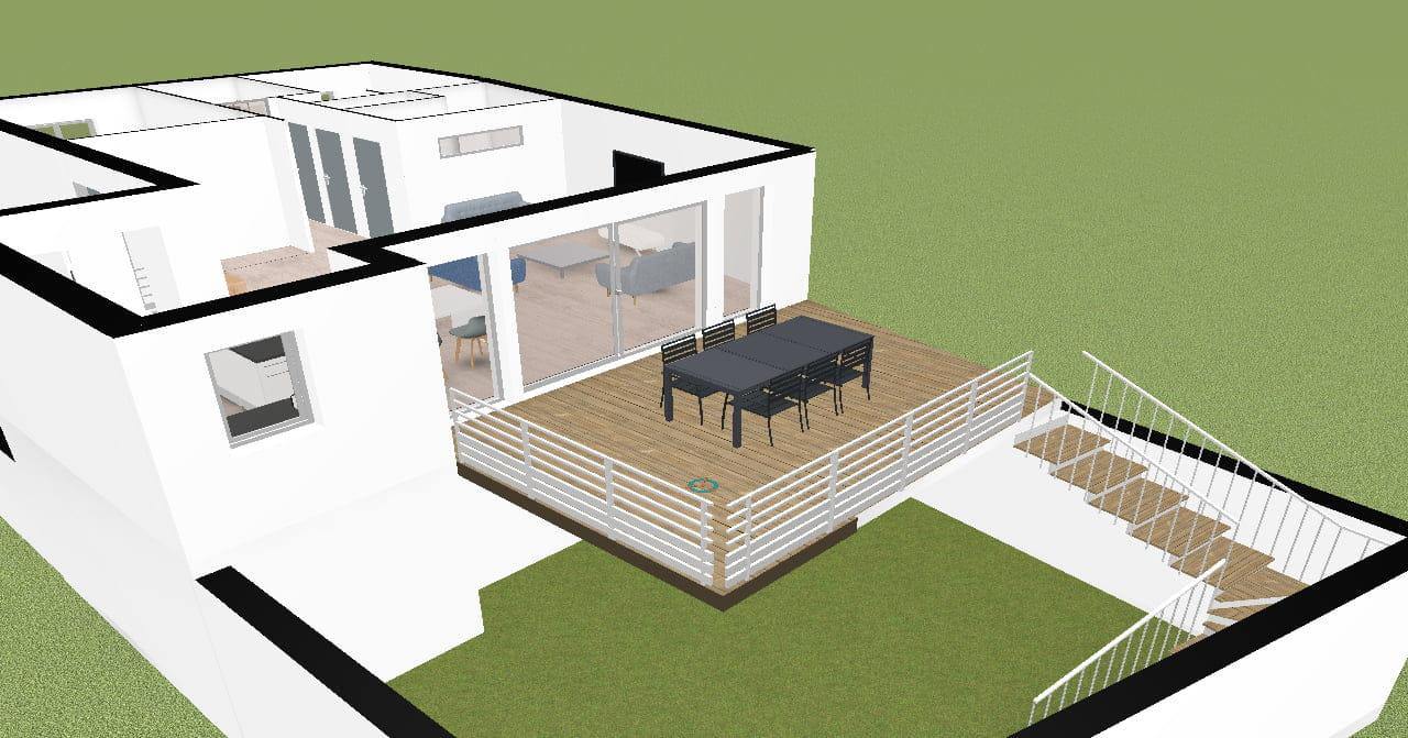 Terrasse Surélevée En Acier conseil structure terrasse surélevée - forum maçonnerie