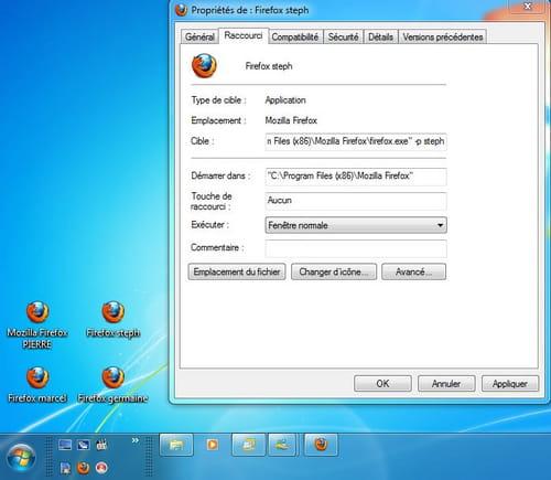 Firefox Accéder Au Profil Sans Passer Par Le Gestionnaire