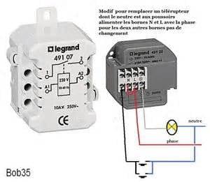 Telerupteur Legrand 49120 Resolu Electricite Linternaute Com