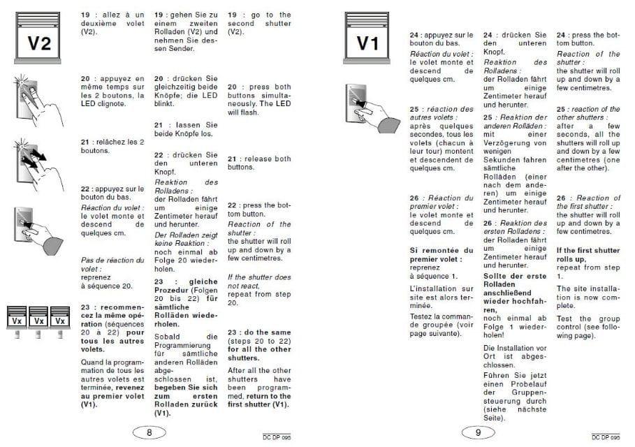 Programmation Volets Id De Bubendorff Linternautecom