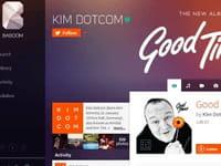 Kim Dotcom lance Baboom, son service de musique numérique