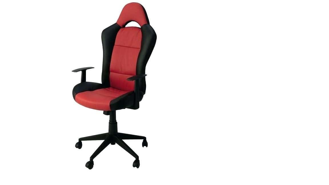 Qui Descend Toute Seule Ca Me Stresse Date Depuis Longtemps Cest Une Chaise Bureau Fauteuil De Conforama Noir Et Rouge