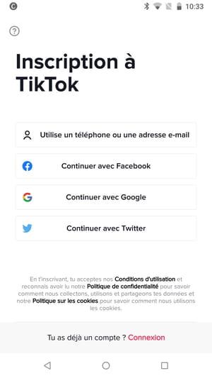 TikTok : comment créer et paramétrer un compte