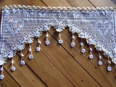 Rideau Au Crochet – Idées d\'images à la maison