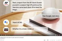 Google Actualités se décline en version audio