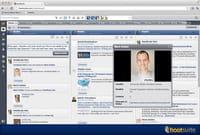 Viadeo disponible sur le client de réseaux sociaux Hootsuite