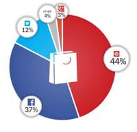 Partages sociaux : avantage Pinterest pour les sites d'e-commerce