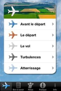 Une application pour gérer sa « Peur de l'avion »
