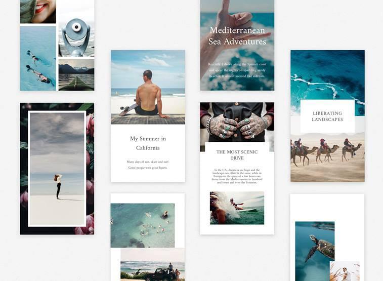 Des applications pour des stories Instagram originales