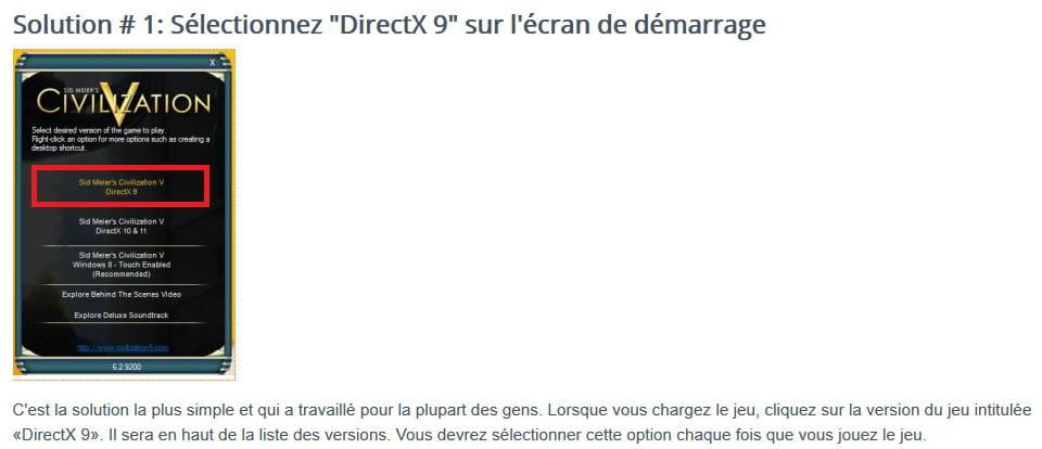 Echec installation Directx (9 et 11)
