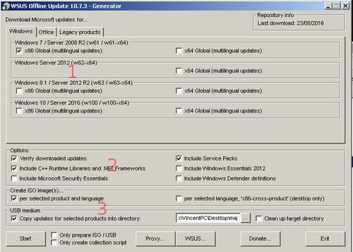 Télécharger WSUS Offline Update (gratuit)