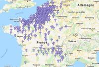 Une carte pour retrouver l'origine des chevaliers français morts à Azincourt