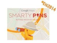 Google Maps, en mode culture générale = Smarty Pins